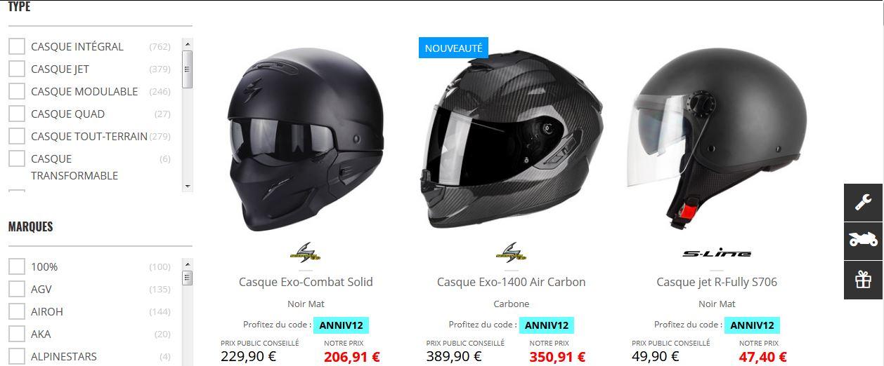 casques dafy moto