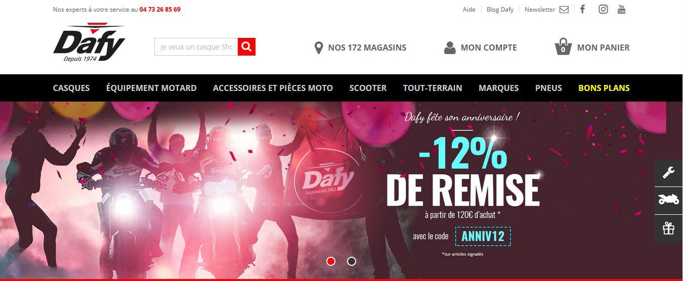 site dafy moto