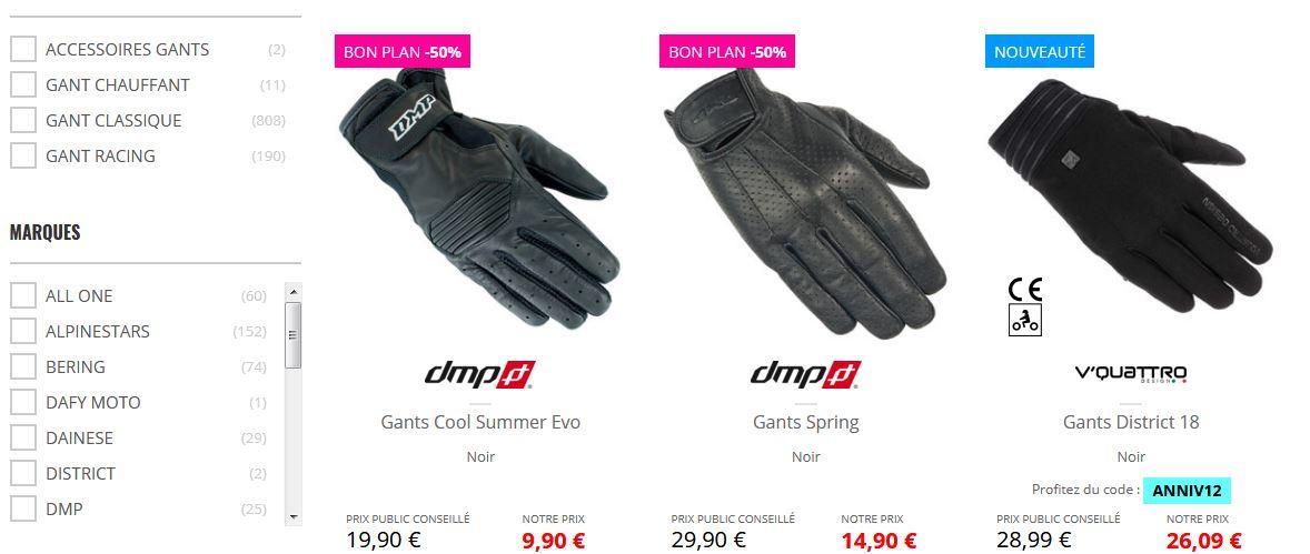 gants dafy moto