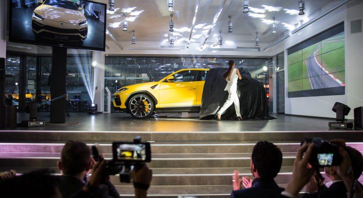 Lamborghini Urus présentation
